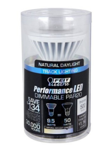 LED Dimmable PAR20 LED bulb light 5K Reflector